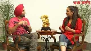 Raula Pai Gaya - Ravinder Grewal Exclusive interview on Jagbani-Part 2