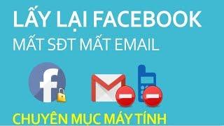 Lấy lại mật khẩu facebook khi mất số điện thoại và email bằng cách xác định danh tính