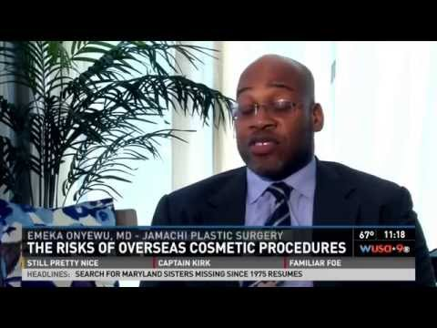 Dr. Onyewu Exposes the Dangers of Medical Tourism with WUSA 9