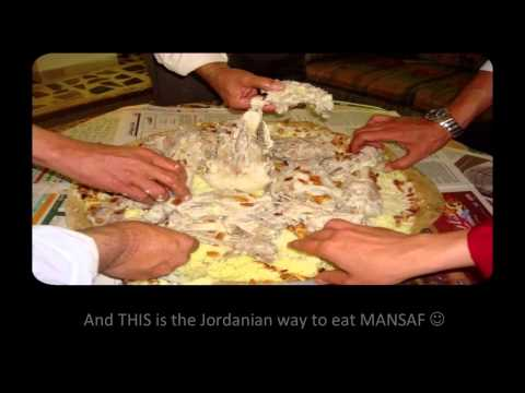 Traditional Food in Jordan