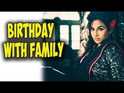 Vidya Balan spends her Birthday with her family | Bollywood News