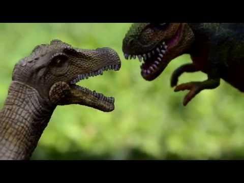 ДИНОЗАВРЫ. Тираннозавр Рекс спасает своего брата Тирекса. Мультик про Динозавров 2 серии. Игрушки ТВ