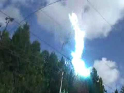 High Voltage Electrical Explosion 110 Kv,50 Hz