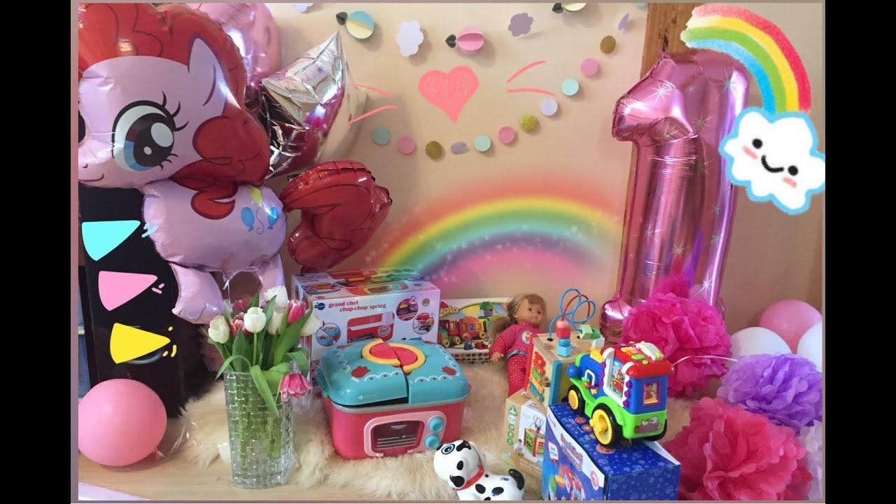 Подарки детям на день рождения 1 год