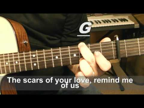 Adele - Rolling in the deep - Guitar Tutorial & Sing Along