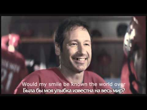 "Funny David Duchovny Russian commercial ""You have many things to be proud of!"" (English translation)"