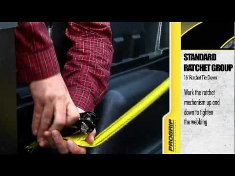 How to Use a Ratchet Tie Down