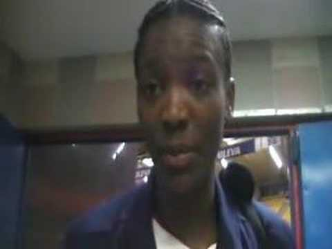 Interview Delisha Milton-Jones USA Valencia Video