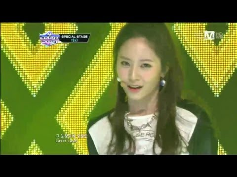 엠카운트다운 - f(x)_Electric shock(Electric shock byf(x)@Mcountdown 2012.12.20)