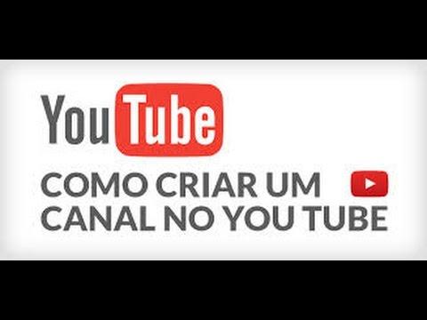 Como Criar um Canal no YouTube (2015) thumbnail