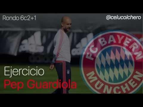 Rondo 6c2+1J - Pep Guardiola (Bayern de Munich)