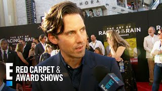 "Milo Ventimiglia Suggests Tissues for ""The Art of Racing in the Rain"" 