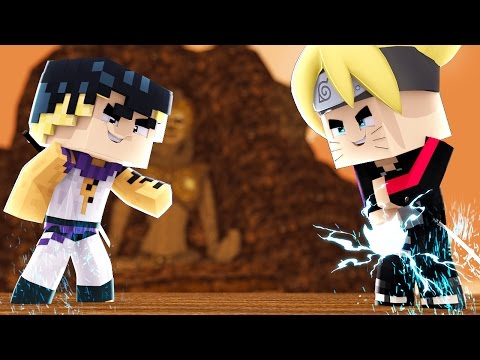Minecraft: BORUTO - KAWAKI, O MAIOR INIMIGO DO BORUTO #7 thumbnail