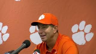 Clemson 49 Georgia Tech 21: Dabo Swinney postgame press conference - Part 1