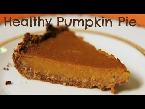 Healthy Pumpkin Pie | Sarah Dussault