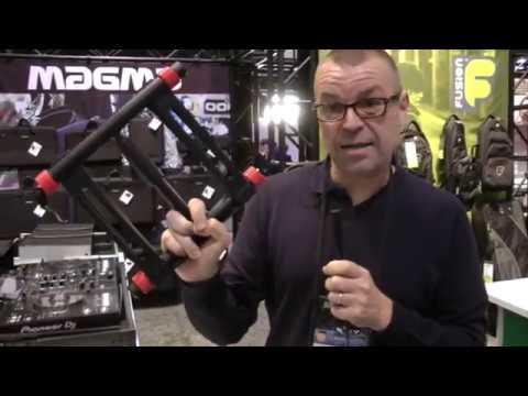 NAMM 2017: Magma Vektor DJ Laptop Stand Talkthrough