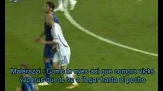 La verdadera razon del cabezazo de Zidane