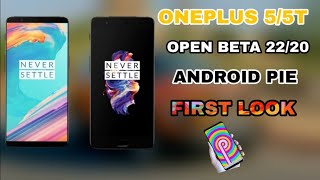 Android Pie Hands-on on OnePlus 5T    Open Beta 20    How To Update