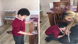 Boy Bursts Into Tears At Surprise Pregnancy Reveal