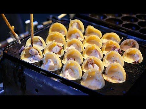 Bangkok Street Food - TAKOYAKI Japanese Octopus Balls Thailand