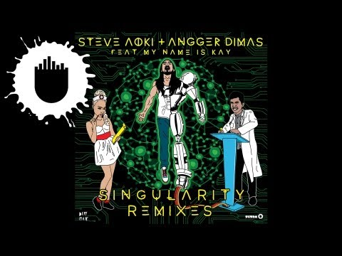 Steve Aoki &amp; Angger Dimas feat. My Name Is Kay - Singularity (Tim Mason Remix) (Cover Art)