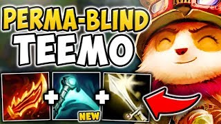WTF RIOT?! ESSENCE REAVER GIVES TEEMO A PERMANENT BLIND?! THIS NEEDS TO BE NERFED! League of Legends