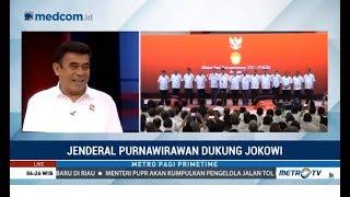 Fenomena Jenderal Purnawirawan Dukung Jokowi