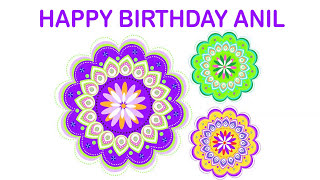 Anil   Indian Designs - Happy Birthday
