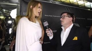 'Boy Meets World' actress Maitlin Ward interviewed at Sue Wong LAFW Event