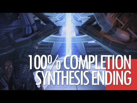[MASS EFFECT 3] 100% Complete Ending - Synthesis. Control. Destroy *SPOILERS*