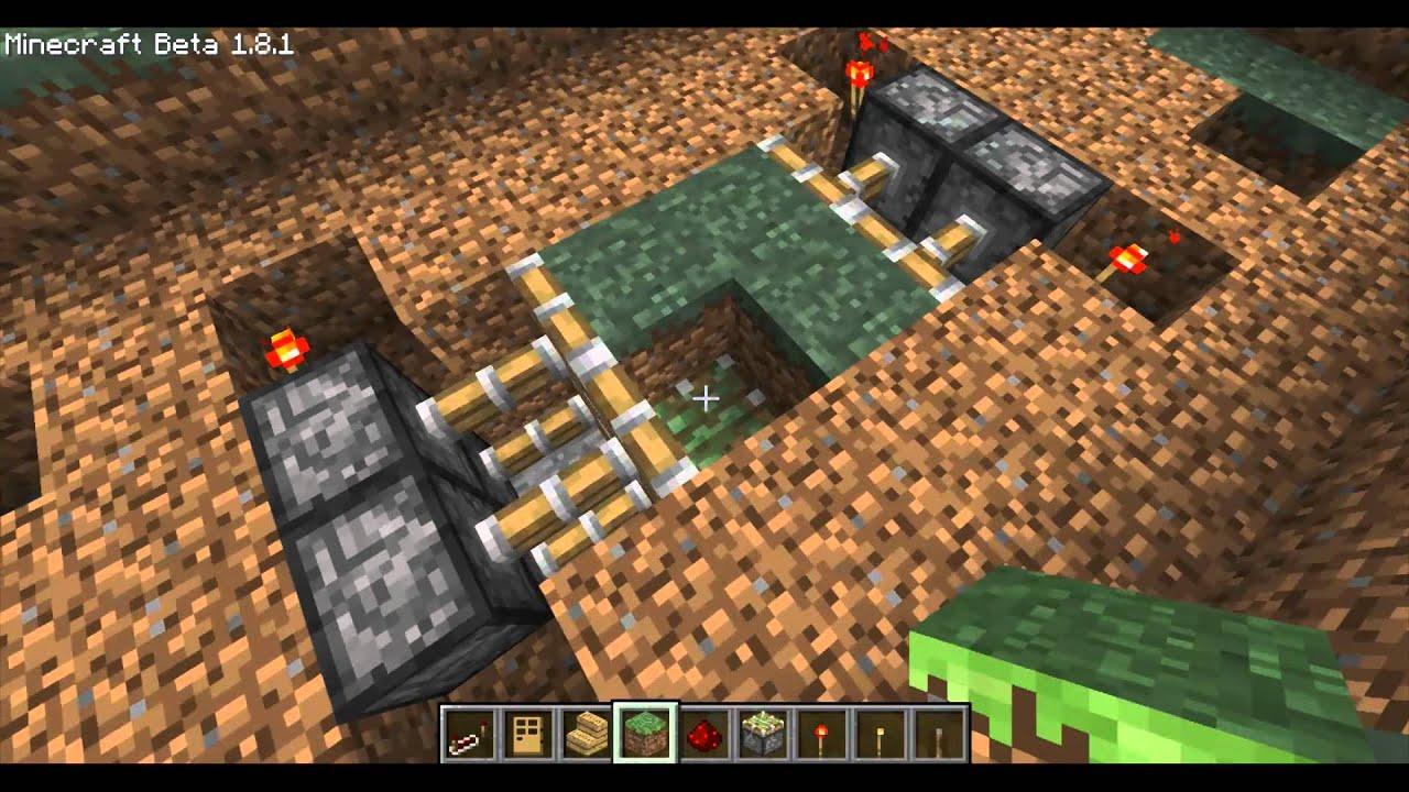 Piston Door 2x2 2x2 Horizontal Piston Door