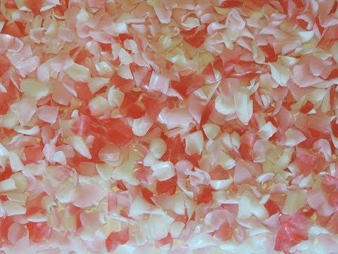 Как сделать розовые лепестки 349