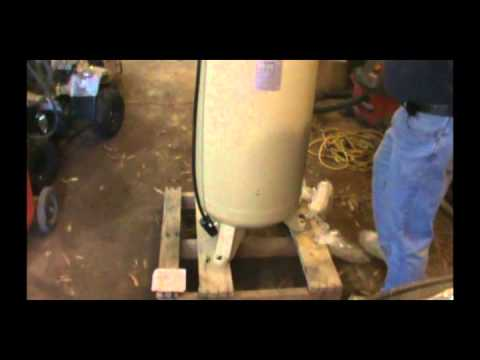 Ingersoll Rand Air Compressor Install Part 2