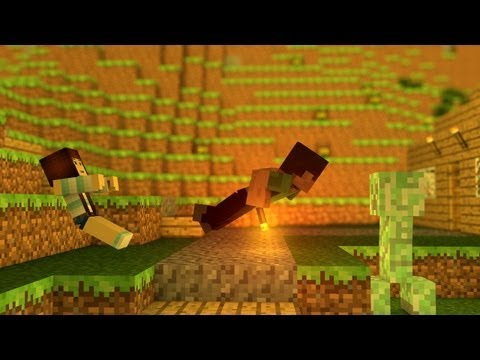 "� ""Heaven"" - A Minecraft Parody of Bruno Mars' ""When I Was Your Man"" �"