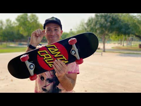 SMALLEST BOARD WE MAKE! SUPER MICRO SK8 COMPLETE Product Challenge   Santa Cruz Skateboards