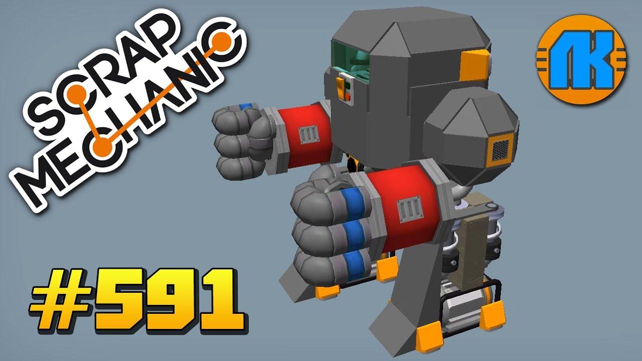 Как сделать робота в скрап механик 643