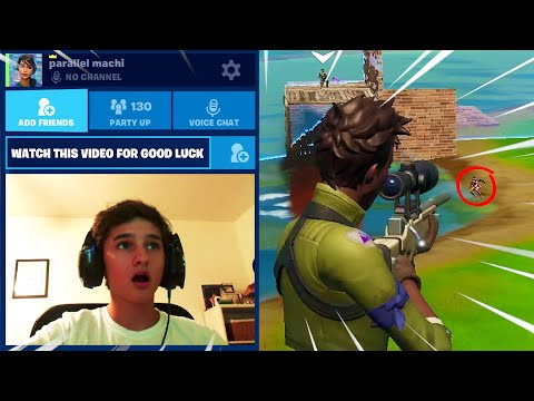 How we got into BOT LOBBIES to hit these trickshots (Road To A Trickshot - Fortnite)