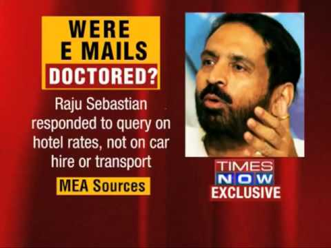 Suresh kalmadi showed Forged CWG Email