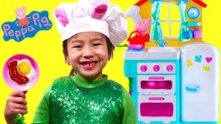 Jannie Pretend Play Cooking Kitchen Toyset