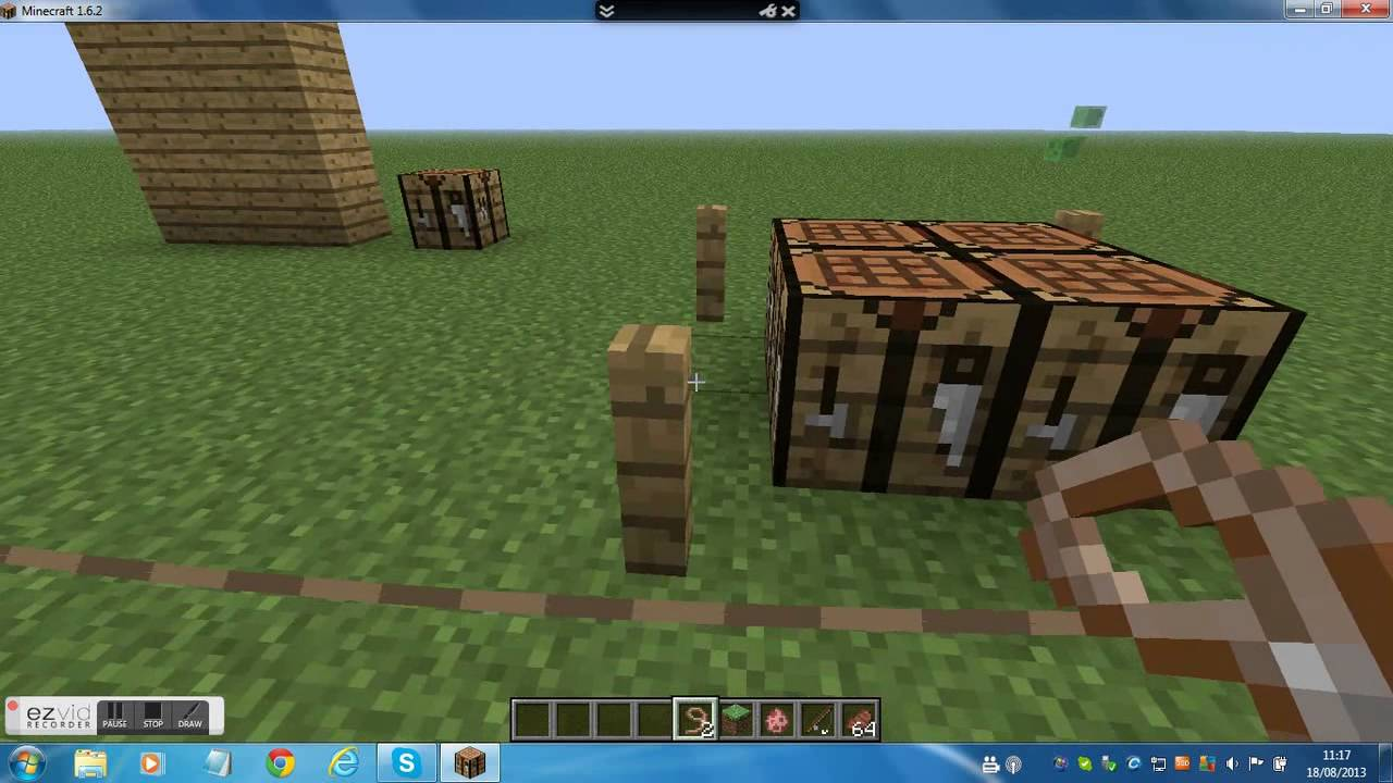 how to make a lead minecraft