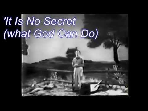 Eddy Arnold - It Is No Secret (What God Can Do)