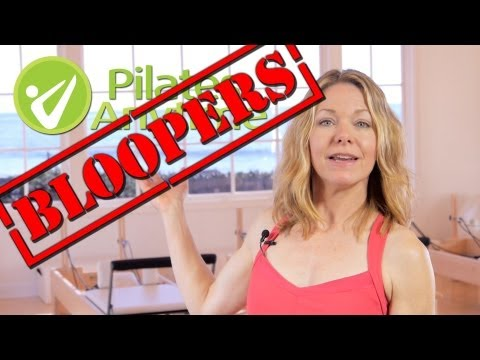 Pilates Anytime 2012 Bloopers