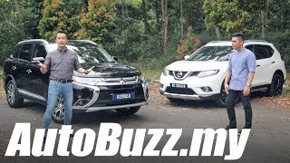 Mitsubishi Outlander 2.0 4WD vs Nissan X-Trail 2.0 2WD review - AutoBuzz.my