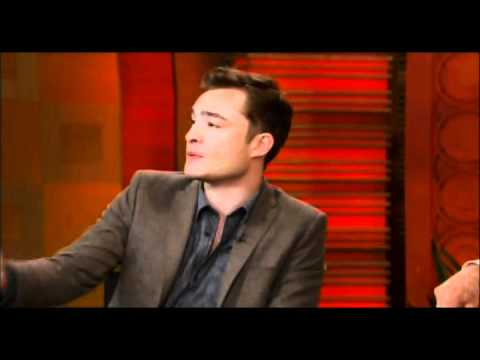 Ed Westwick on Regis & Kelly (10.25.10)