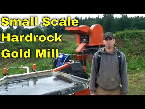 MBMMLLC.com: Hard rock mill demo crushing gold bearing quartz ore