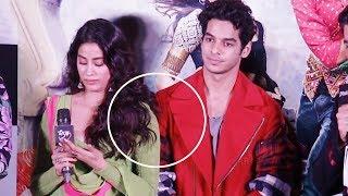 Ishaan Khattar's Sweet Gesture Towards Crying Jhanvi