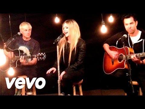 Avril Lavigne - Here's To Never Growing Up (acoustic Version) video
