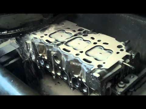 TOYOTA  ENGINE REPAIR BLOWN HEAD GASKET PART 2