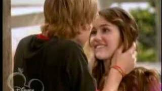 Miley and Jake (The Kiss)
