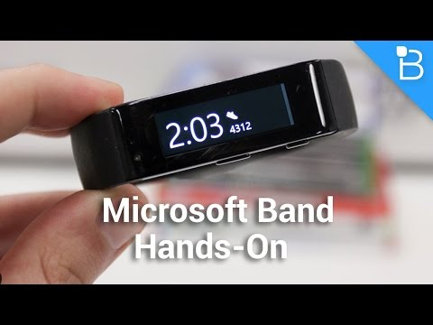Microsoft Band Hands-On - A Solid Smartwatch and Fitness Band